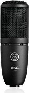 micrófono condensador AKG iniciación