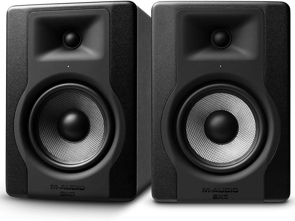 altavoces M-Audio monitores de estudio