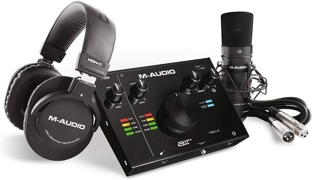 M-Audio kit home studio starter