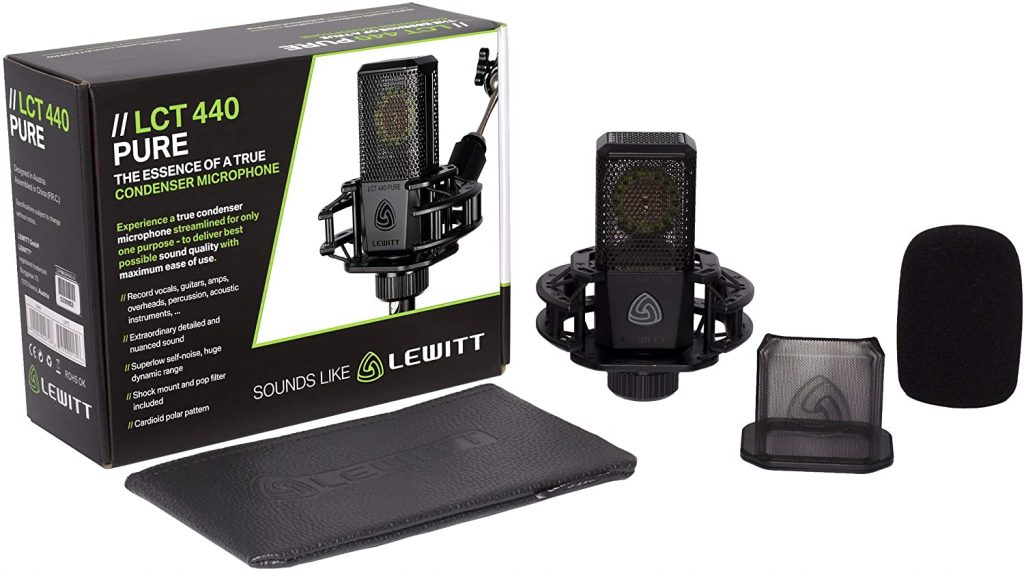micrófono condensador Lewitt LCT 440 Pure