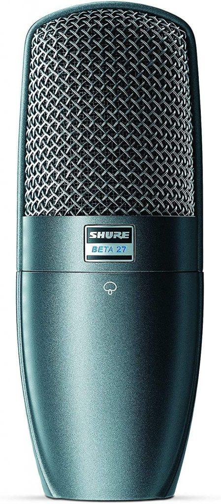 micrófono de condensador Shure supercardiode