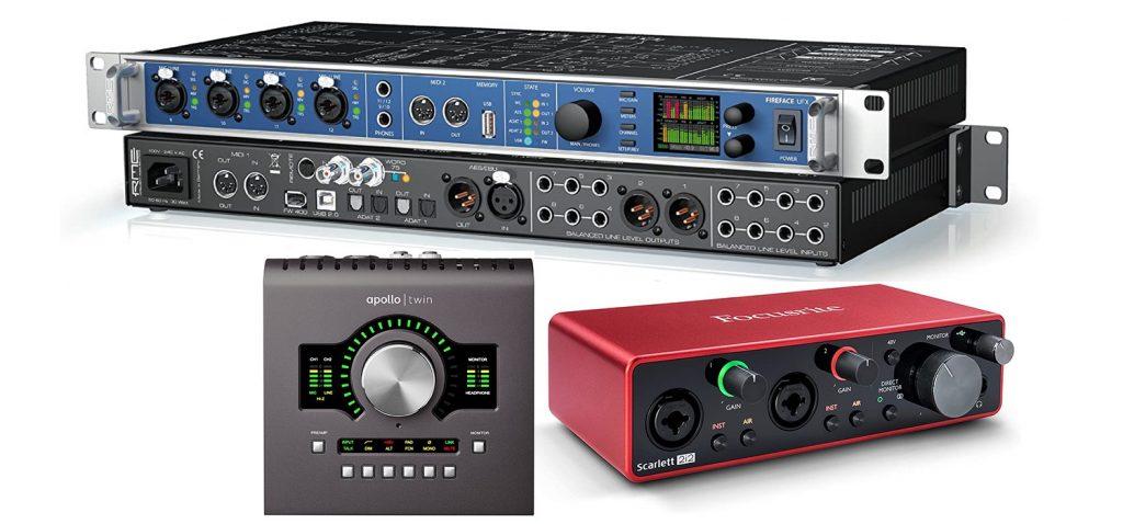comprar barato interface de audio