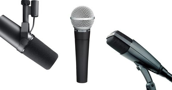 ¿Utilizar micrófonos Dinámicos en tu Home Studio?